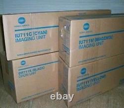 Véritable Konica Minolta Drum & Imaging Unit Set Pour Bizhub C654 C754 Livraison Gratuite