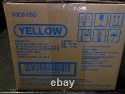 Véritable Konica Minolta Dv619y Yellow Développeur A9c8-08d Bizhub C458 C558 C658