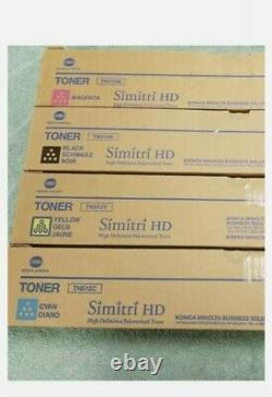 Véritable Konica Minolta Tn 512 Toner Set Bizhub C554e Tn512c Tn512y Tn512k Tn512m