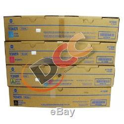 Véritable Konica Minolta Tn319 Cmyk Set De Toner Pour Bizhub C360