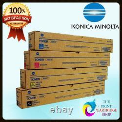 Véritable Konica Minolta Tn321 Full Toner Set Cmyk Bizhub C224 C284 C364 C224e