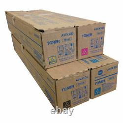 Véritable Konica Minolta Tn619 Cmyk Toner Set Pour Bizhub C1060 C1070 C2060 C2070 C2070