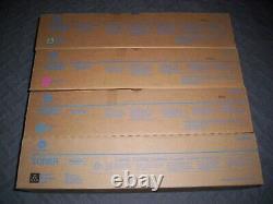 Véritable Konica Minolta Tn622 Toner Set Ymck Bizhub Press C1085, C1100