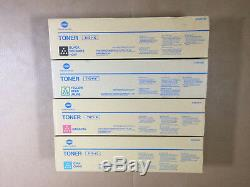 Véritable Konica Minolta Tn711 Cmyk Set Toner Pour Bizhub C654 C654e C754 C754e