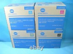 Véritable Konica Minolta Tnp49 Cmyk Pour Bizhub C3851/c3851fs/c3351 Toner Cartridge