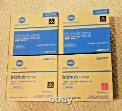 Véritable Konica Minolta Tnp51 Magenta Cartouche Toner Noir Bizhub C3110 A0x5135