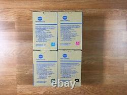 Véritable Konica Tnp79 Cmyk Toner Set Pour Bizhub C4050i C3350i Fedex 2 Jour