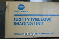 Véritable Oem Konica Minolta A0de06f Unité D'imagerie Jaune Minolta C203 C253 D3
