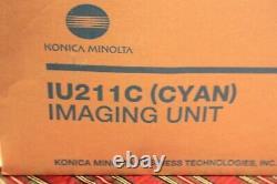Véritable Oem Konica Minolta Iu211c (a0de0hf) Unité D'imagerie Cyan C203 C253 D3