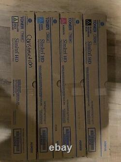 Véritable Toner Konica Minolta Bizhub C454 (tn512k, Tn512m, Tn512c, Tn512y)
